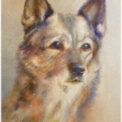 P1000866-hundportratt-akvarell-margita